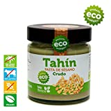 Tahín Crudo 100% BIO bioBética - 190 gr - Tahini crudo - Tahín Blanco - Pasta de sésamo crudo