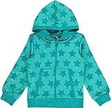 maxomorra Kinder Kapuzenjacke Blau mit Sternen Cardigan Hood STARS (110/116)