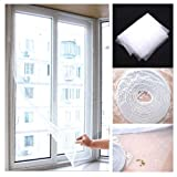 ChineOn DIY Insekt Fliegengitter Fenster Bug Garn Voile Net Mesh Screen Sticky Klettband