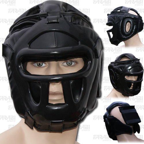 Farabi Kopfschutz Schutzgesichts Saver Helm mit abnehmbarem Frontseiten -Gesicht Grill Test
