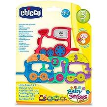 Chicco-00007681000000 Big & Small Sonajero, 6-12 Meses (00007681000000