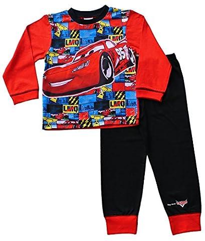 Disney Cars Pyjamas 2 to 7 Years Mcqueen Cars Pyjamas Disney Long Cars PJs W16 (5-6 Years)