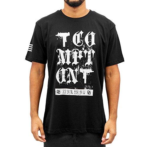 Dangerous DNGRS Uomo Maglieria / T-shirt Guns Nero