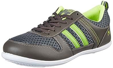 North Star Men's Anmol New Grey Sneakers - 11 UK/India (45 EU)(8392579)