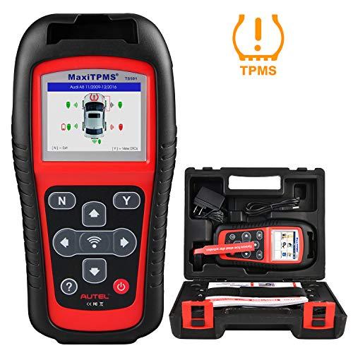 Autel MaxiTPMS TS501 TPMS Tool OBD2 Reifen Druck Monitor System Diagnosegerät für TPMS Sensoren Aktivierung/ TPMS Erneut lernen/ TPMS Programmierung