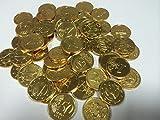 2000 Stück Goldtaler Goldmünzen Schokomünzen ( 7 Kg ) Schokolade Bonbon Kaubonbon