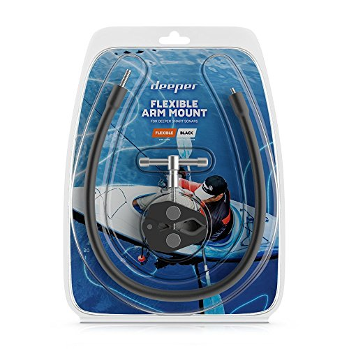 Deeper Uni Flexy Arm Fischfinder, Schwarz, One Size