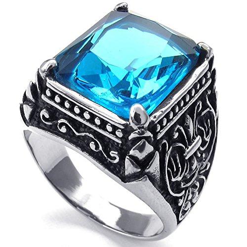 konov-gioielli-anello-da-uomo-anelli-classico-gotico-cristallo-acciaio-inossidabile-azzurro-argento-