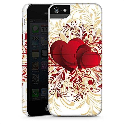 Apple iPhone X Silikon Hülle Case Schutzhülle Silent Love Muster Herz Premium Case StandUp