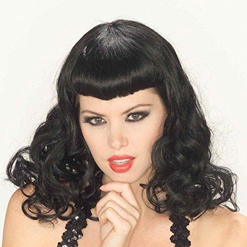 Pin Rot Up Perücke Girl (Pin-Up Girl Wig)