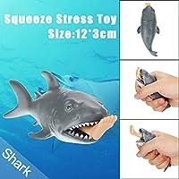 JIUZHOU Best Online Toy Shop - Tiburón de Juguete (12 cm)