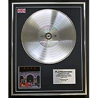 RUSH/Limitierte Edition Platin Schallplatte/MOVING PICTURES