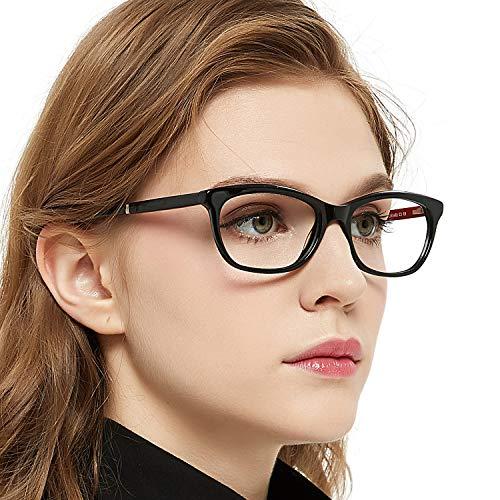 OCCI CHIARI Optische Brillen Rahmen Green Brille Optische Gläser Vintage Metall Oval Brille Leichte...