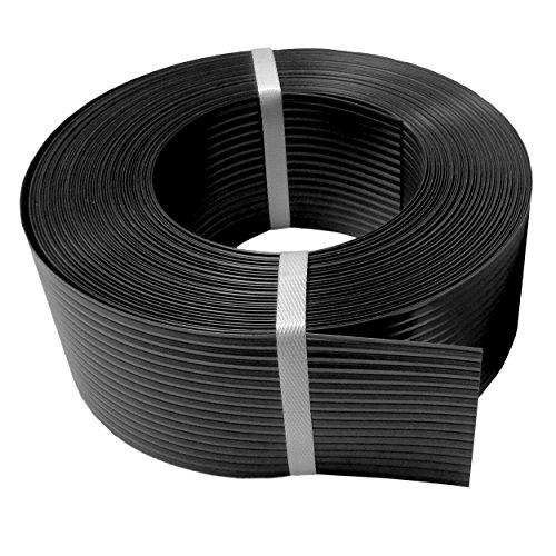 Thermoplast® SICHTSCHUTZSTREIFEN 9,5cm x 52m = 4,94m2, Anthrazit (RAL 7016), 5 Jahre Garantie