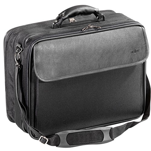 Notebooktasche Laptoptasche Businesstasche Schwarz Polyester 17 Zoll inch Zusatzfächer