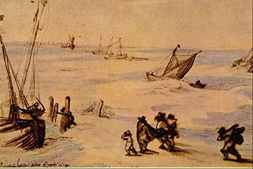 501066 _Stormy Sea_ Jan Brueghel A4 Photo Poster Print 10x8