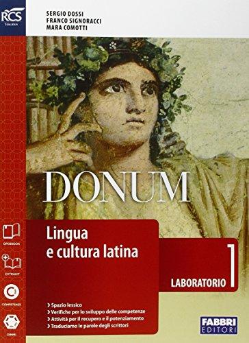 Donum laboratorio. Openbook-Laboratorio-Extrakit. Per le Scuole superiori. Con e-book. Con espansione online: 1