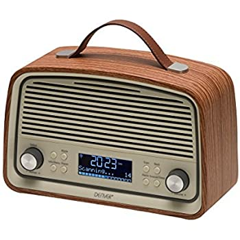 goodmans gsr1889dabbtw heritage retro radio with bluetooth wood finish tv. Black Bedroom Furniture Sets. Home Design Ideas