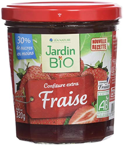Jardin Bio Confiture Extra Fraise 320 g