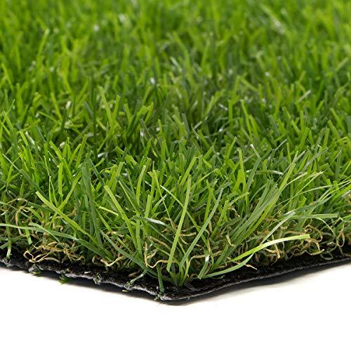 sti prato sintetico 30mm finta erba tappeto manto giardino 4 sfumature colore 2x10