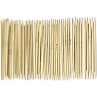 """WOVELOT 11 Saetze 4.9""""Bamboo Strickhandschuhe Tricknadeln 2,0-5,0 mm US 0-8"""