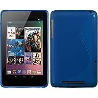 PhoneNatic Custodia Google Nexus 7 Cover blu S-Style Nexus 7