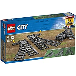 LEGO City - Les aiguillages - 60238 - Jeu de Construction