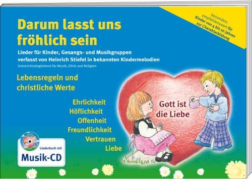 hlich sein - Liederbuch mit Musik CD (Jesus Malvorlagen)