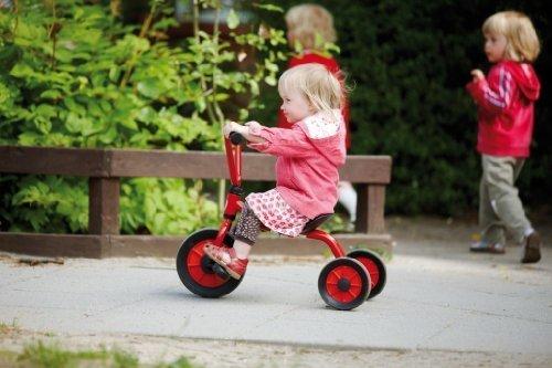 Mini-caddy (MINI Viking Krippendreirad (Alter: 1-4 Jahre / Lenkerhöhe 52cm / Sitzhöhe 24 cm) von Winther)