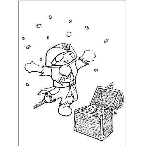 Kleine Piraten – Party Paket Kindergeburtstag Teller, Becher, Servietten, Postkarten - 5