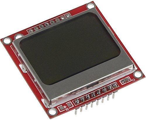 Joy-it Raspberry Pi® Display-Modul Rot sbc-lcd84x48 Raspberry Pi®, Raspberry Pi® 2 B, Raspberry Pi® 3 B