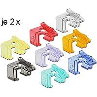DeLOCK 86420 Multicolor 16pieza(s) abrazadera para cable - Abrazadera para cables (Multicolor, 17,2 mm, 14 mm, 14 mm, 16 pieza(s))
