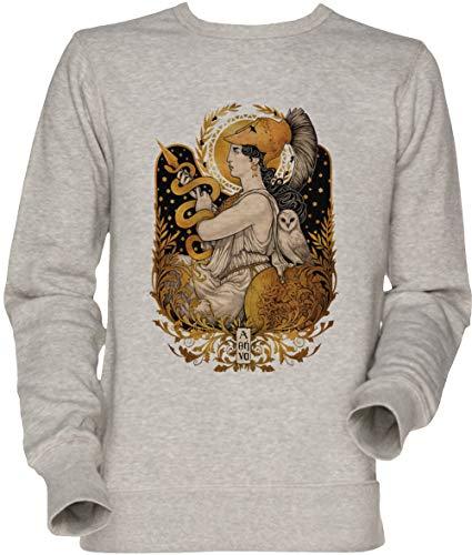 Pallas Athena Unisex Sweatshirt Grau
