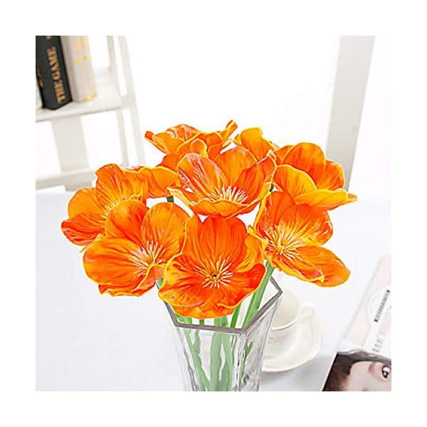 Flores Artificiales Para Decoración Flores Artificiales Exterior E Interior Decoración Del Hogar Seda Fiesta La Novia…