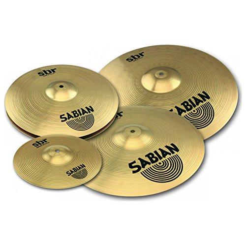 SABIAN SBR Werbe Becken Set mit 25,4cm Splash