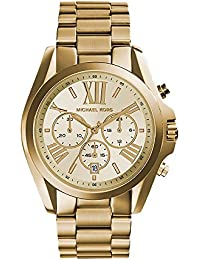 Michael Kors Analogue Gold Tone Watch for Women MK5605