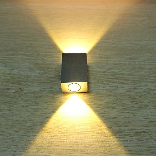 Lámparas pared apliques baño creativo cálida luz