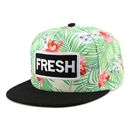 Hip Hop Honour Snapback Fresh Verte et Rouge