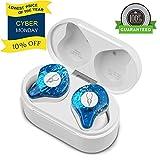 YOLOCE Wireless Bluetooth Kopfhörer in Ear für Sport Kabellos Ohrhörer True Wireless Earbuds 30 Stunden Spielzeit Bluetooth 5.0 Kopfhörer mit Mikrofon Tragbare Lade Box(Ice Soul)