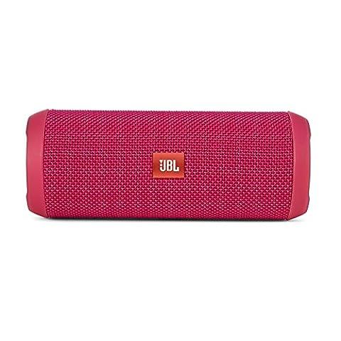 JBL Flip 3 Spritzwasserfester Tragbarer Bluetooth-Lautsprecher mit außerordentlich Kraftvollem Klang