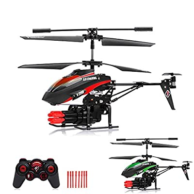 Shooting 3.5 Channel RC Remote Control Model Helicopter Gyro Technology for Hobby Airplane Ready To Fly Helicopter Model – Complete Set