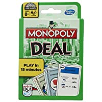 Hasbro Monopoly Deal Card Game - Classic U.S. Edition