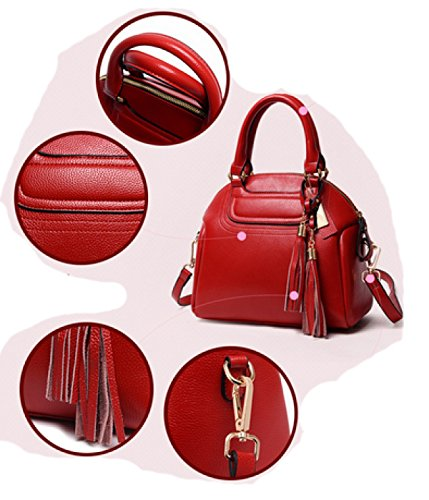 LAIDAYE Borse Di Stile Di Moda Red