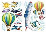 Wandtattoo Wandsticker Kinderzimmer Flugzeuge Wandtattoo Wandaufkleber Sticker