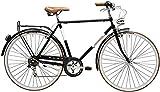 28 Zoll Herren City Fahrrad 6 Gang Adriatica Condorino, Farbe:schwarz