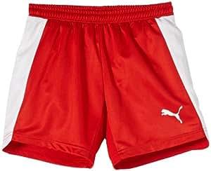 Puma Short EvoSpeed pour sport d'intérieur, pour garçon Rouge Rouge/blanc 17 ans