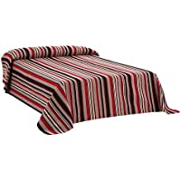 Martina Home Foulard Multiusos/Plaid modelo RUMBA, color Rojo, 230 x 270 cm