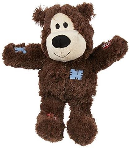 KONG Wild Knots Bear Dog Toy, Medium/Large Colours (Ansia Da Separazione Cane)