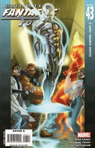 Ultimate Fantastic Four #43A