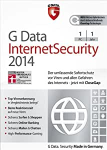 G Data Internet Security 2014 - 1 PC [Download]